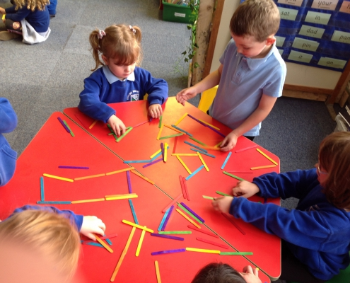 Making 2d shapes